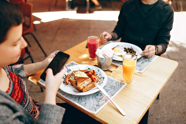 Bringing Your Phone to the Table: Is this the New Normal?
