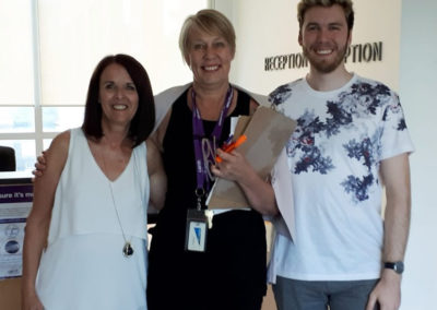 Jake & I with Anu Goodman, addressing parents at the CAMH Parent Support Group