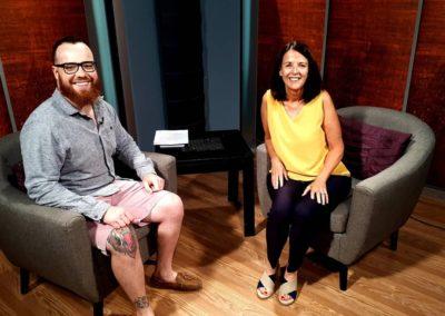 Rogers TV 20- Interview with Kickback - mental health program